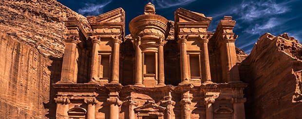 Mini Tour Giordania 5 giorni Petra Tour - Tour Petra Giordania Tour - Arché Travel - Tour Operator
