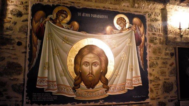 Day7-Meteora-affresco-museo-Megalo-Meteoro-Arché-Travel-On-Tour