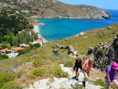 Trek Tour: Trekking Andros Grecia | Arché Travel - Tour Operator Grecia