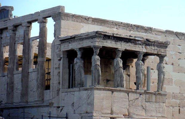 Acropoli di Atene - Cariatidi