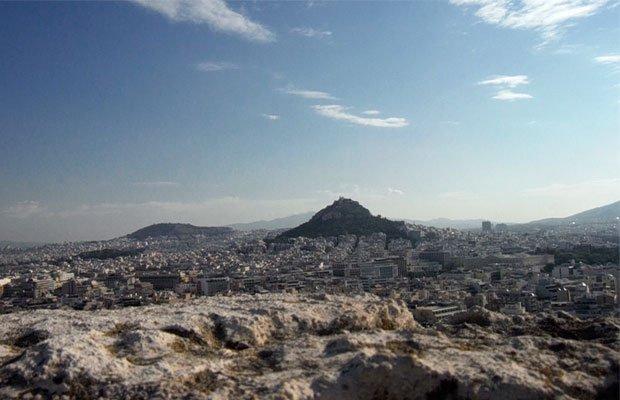Acropoli di Atene - Vista di Atene