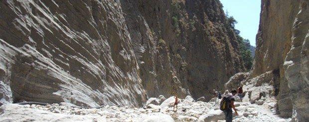 Trekking nelle Gole di Samaria Creta