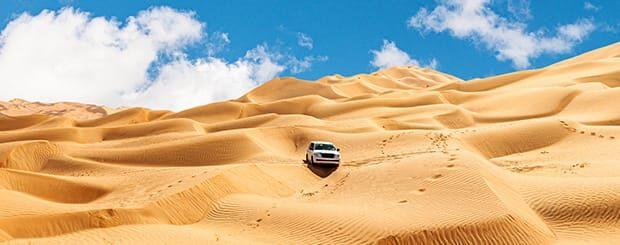 Jeep Tour Oman - Tour Deserto Oman 4x4 Deserto del Rub Al Khali