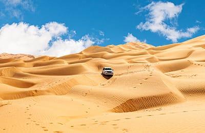 Jeep Tour Oman: Il Grande Rub Al Khali | Arché Travel