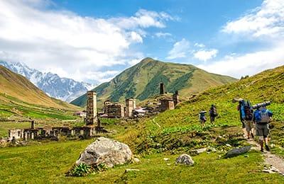 Tour Georgia 2021: Trekking in Georgia Svaneti