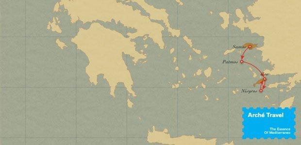 Tour isole greche samos patmos e kos arch travel for Kos villaggi italiani