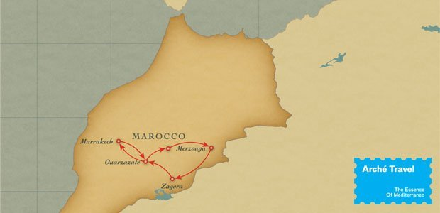 Fly and Drive MAROCCO Deserti e Kasbah | Arché Travel
