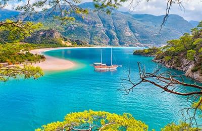 Vacanze a Vela Caicco Turchia: Costa Turchese in Caicco Turchia Marmaris Fethiye | Arché Travel