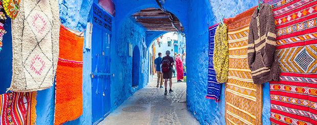 Tour Fes Chefchaouen Meknes Marocco in Riad