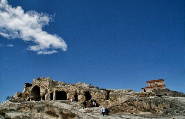 La-Città-scavatan-nella-roccia-di-Uplistsikhe - Arché Travel On Tour Viaggio in Georgia