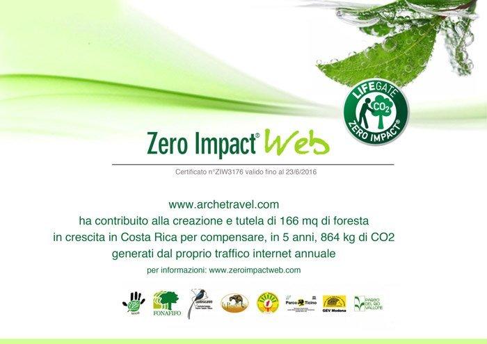 Archeé Travel - Zero Impact Web - Lifegate