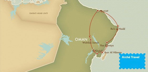 Fly and Drive Oman: Oceani e Deserti | Arché Travel