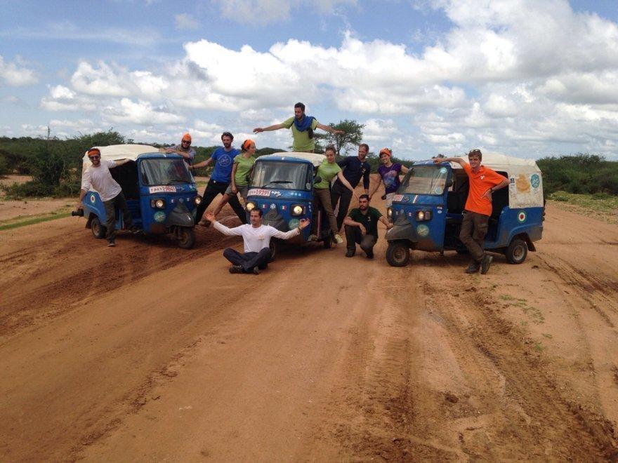 Spedizione Etiopia Apeway Piaggio Taurinorum Team - Arché Travel