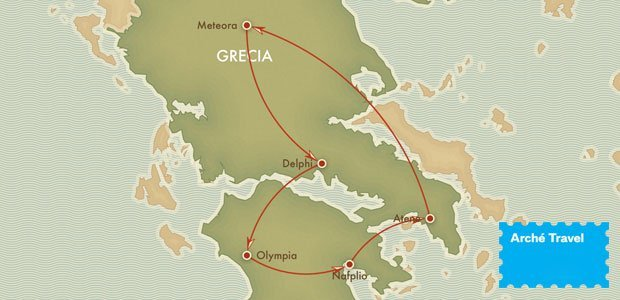 Fly and Drive Grecia Continentale | Arché Travel