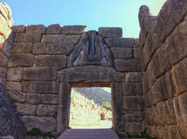 Porta dei Leoni - Micene - Grecia - Peloponneso - Argolide   Arché Travel Grecia