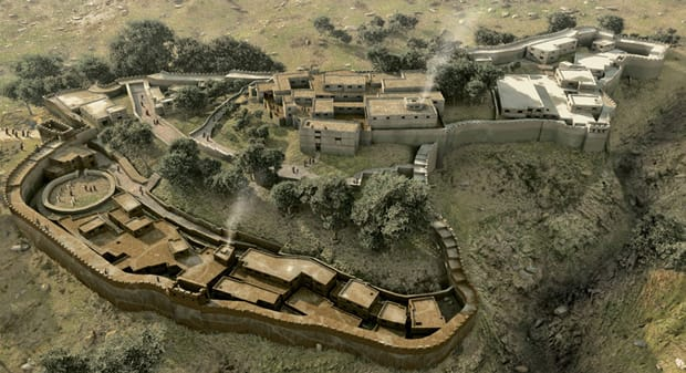 Ricostruzione Cittadella Micene