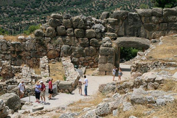 Le Mura Ciclopiche di Micene - Grecia - Peloponneso - Argolide   Arché Travel Grecia