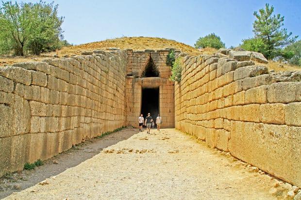 La Tomba di Agamennone - Tesoro di Atreo - Sito Archeologico di Micene - Grecia - Peloponneso - Argolide   Arché Travel Grecia