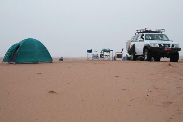 viaggio in oman deserto wahiba sands campo mobile