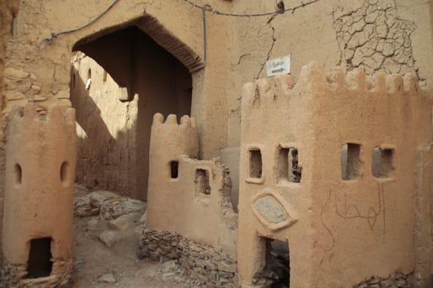 viaggio in oman - al hamra_case in fango oman