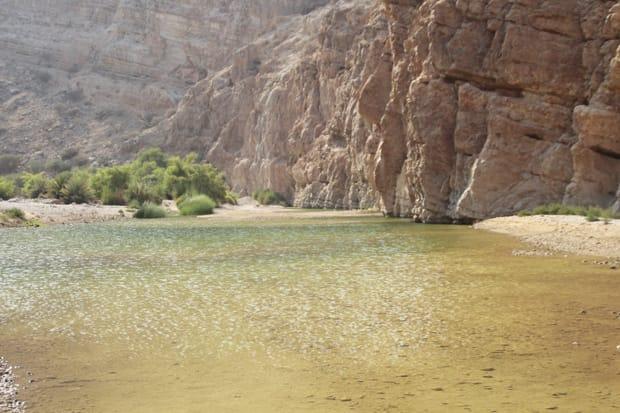 viaggio in oman wadi tiwi