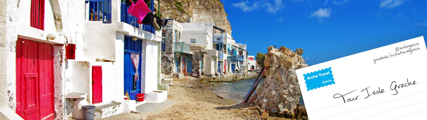 Tour Isole Greche - Mare Isole Greche Vacanze Isole Greche - Crociere Grecia - Island Hopping Grecia - Arché Travel - Tour Operator Grecia Mare