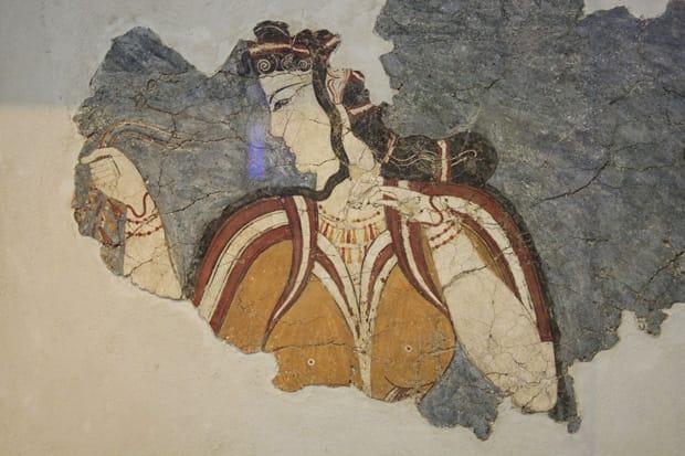 Dipinti-a-muro-del-XIV-XIII-Sec-a.C.-Acropoli-di-Tirinto