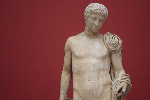 Statua di Hermes - Marmo di Penteli - Periodo Augusteo (27 a.C.-14 d.C.) -