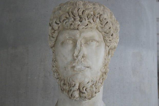 Busto Imperatore Romano - Atene