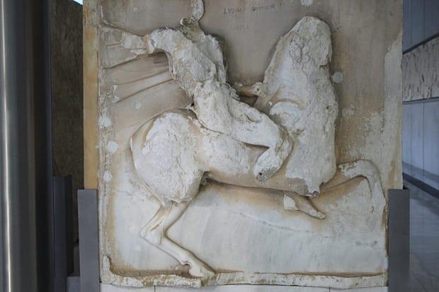 Fregio amazzone a cavallo - Atene