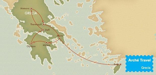 Tour Grecia Classica + Mare Rodi - 2018 | Arché Travel