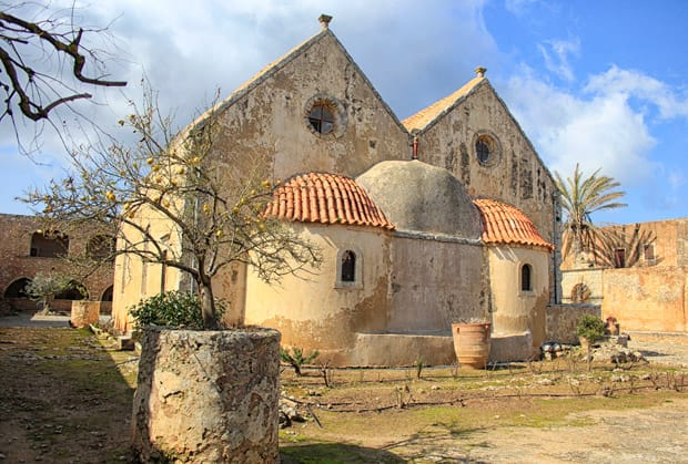 Abside Chiesa monastero di arkadi creta