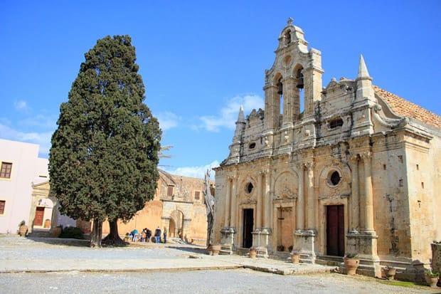chiesa monastero di arkadi creta