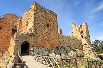 Ajloun - Castello - Tour Giordania Ponte Ognissanti Novembre