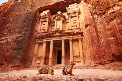 Petra Tesoro Khazneh - visita di Petra