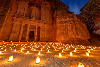 Petra by Night Estate in Giordania Tour