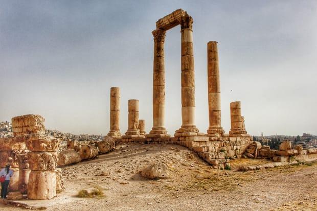 amman tempio di ercole - viaggio in giordania - arché travel
