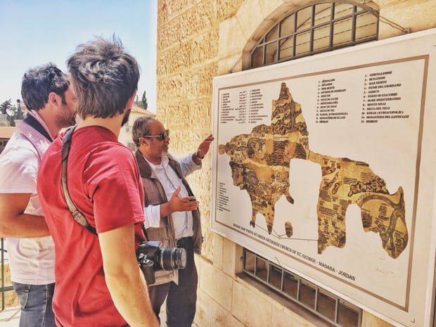 madaba chiesa san giorno viaggio giordania - Arché Travel