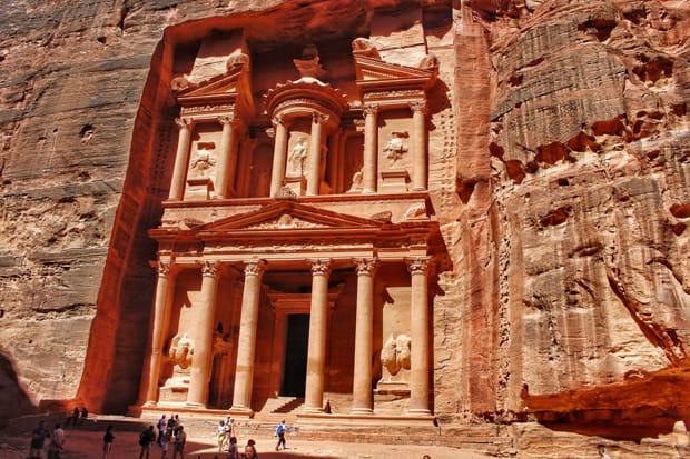 tesoro del faraone petra giordania viaggio in giordania - Arché Travel