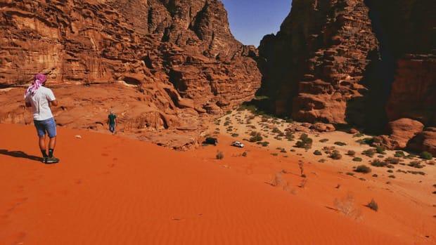 deserto wadi rum giordania viaggio in giordania - Arché Travel