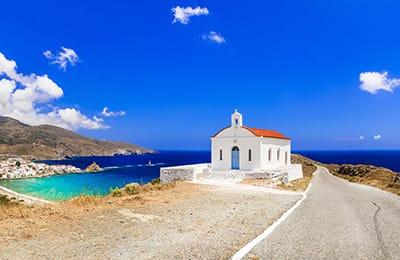 tour isole cicladi andros e tinos