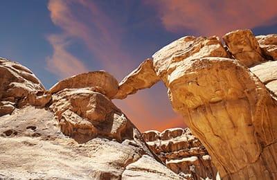 trekking tour giordania dana petra