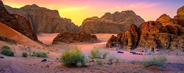 tour capodanno deserto giordania e petra