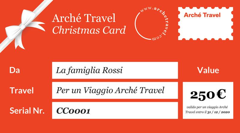 Arché Travel Christmas Card