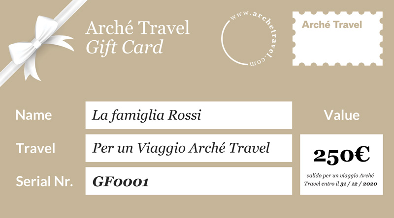 Arché Travel Gift Card