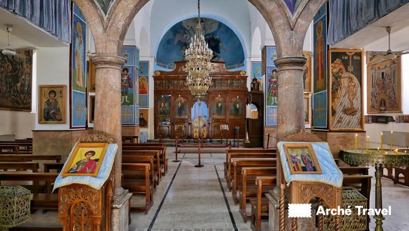 chiesa san giorgio madaba
