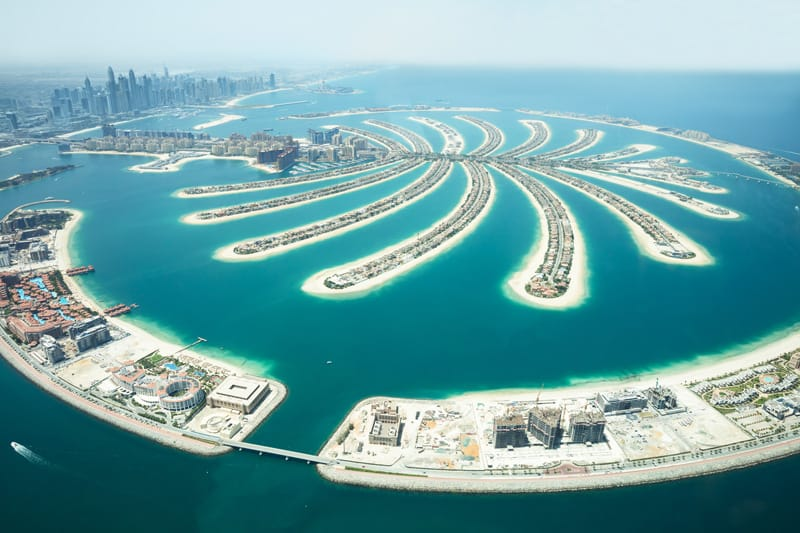Palm Jumeirah Dubai,  Emirati Arabi cosa vedere