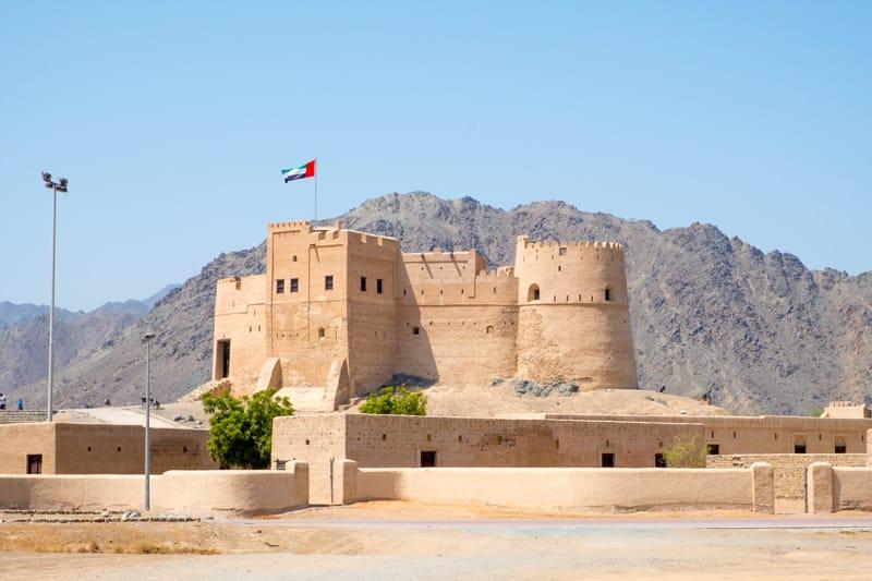 fortezza di fujairah emirati arabi cosa vedere