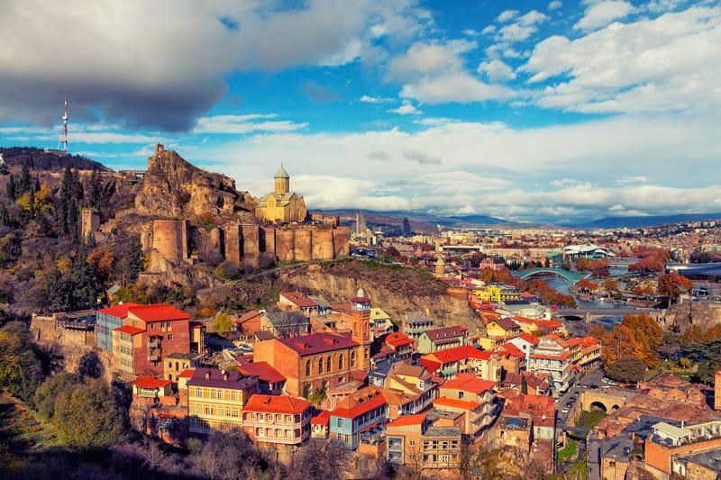 Vista di Tbilisi - Cosa vedere in Georgia