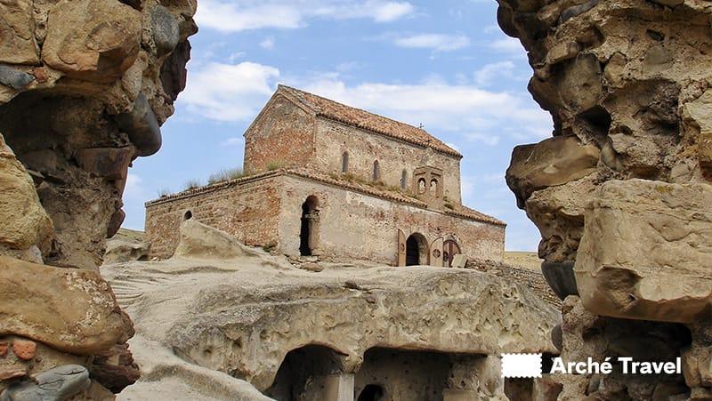 Monastero Uplistsikhe Georgia